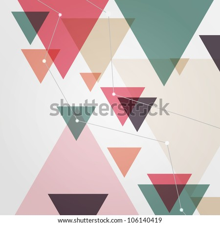 Urban designed background. Book cover - stock vector