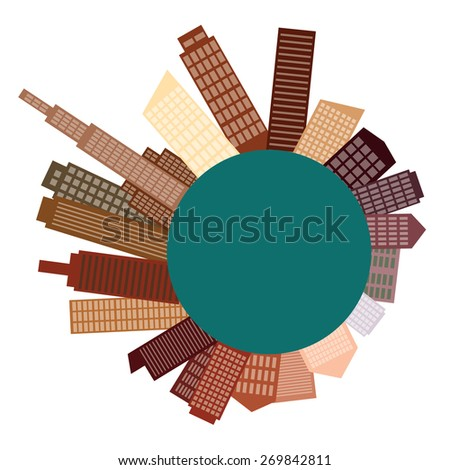 Urban landscape  - stock vector