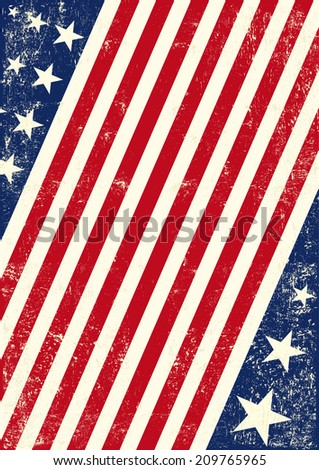 US american flag background. An american background for your publicity - stock vector