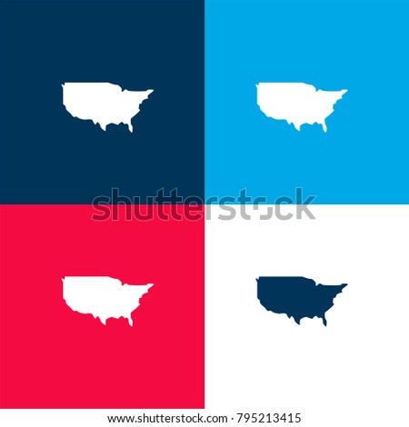 Us Map Logo Stock Images RoyaltyFree Images Vectors Shutterstock