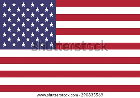 USA American Flag 4th july independence day vector
