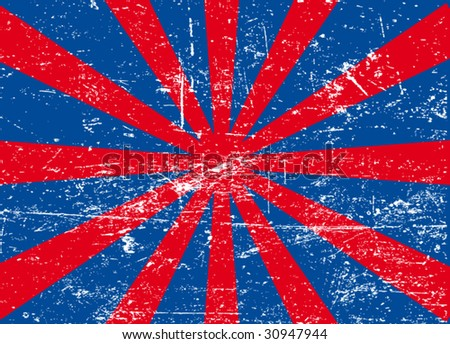 usa background #4 - stock vector