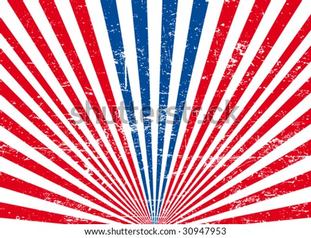 usa background #1 - stock vector