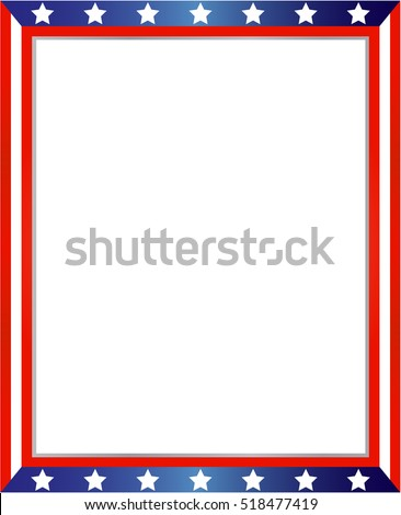 American Flag Border Stock Images, Royalty-Free Images & Vectors ...