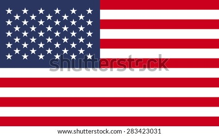 USA flag pattern background.Vector EPS10 - stock vector