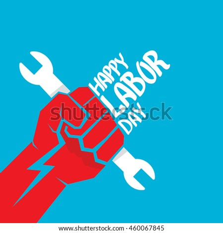 1 May Labour Day Vector Labour Stock Vector 407306380 - Shutterstock