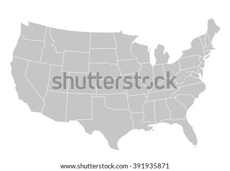 United States Map Stock Images RoyaltyFree Images Vectors - Free us map vector