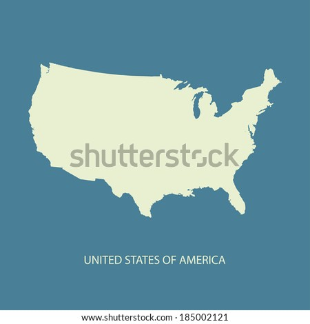 Usa map name countriesunited states america stock vector 239038003 usa map vector us map vector united states of america map vector sciox Images