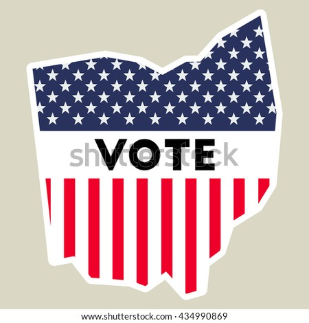 Quotohio Outlinequot Stock Photos RoyaltyFree Images - State map of us ohio