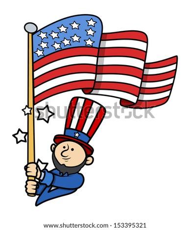 USA Presidents Day Vector - stock vector