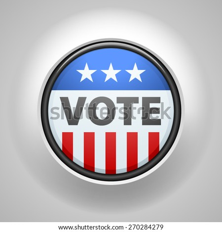 USA Vote button