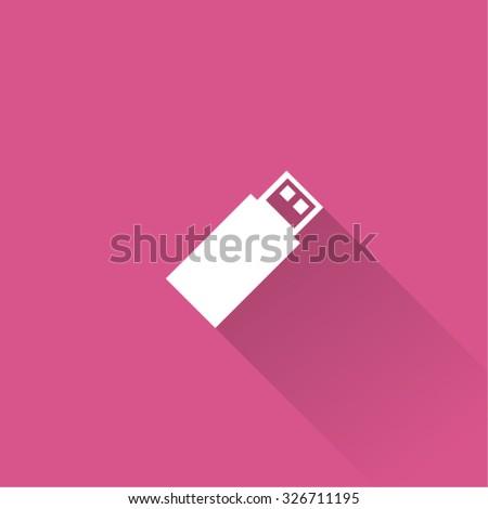 Usb pendrive icon - stock vector