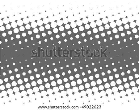 Useful design element with single color dots - stock vector