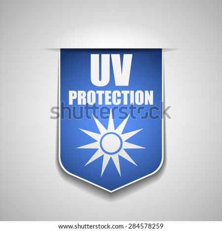 UV Protection - stock vector