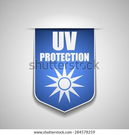 UV Protection - stock vector