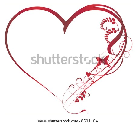 Valentine Backgrounds elements - stock vector