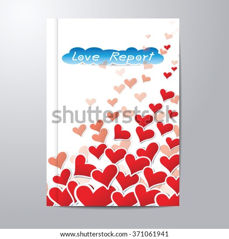 valentines card size