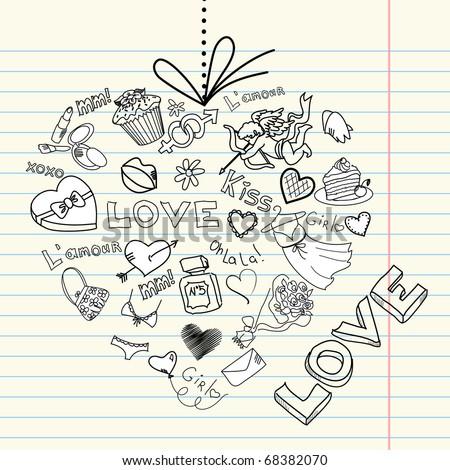 Valentine heart . Vector - stock vector
