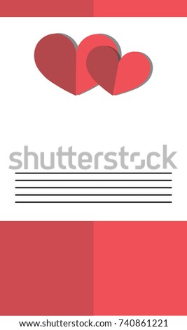 Love text shaped candies on red stock photo 361506905 shutterstock valentine invitation a5 format perfect to print altavistaventures Image collections
