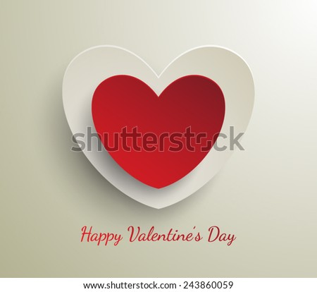 Valentine`s day abstract background. Vector illustration eps 10