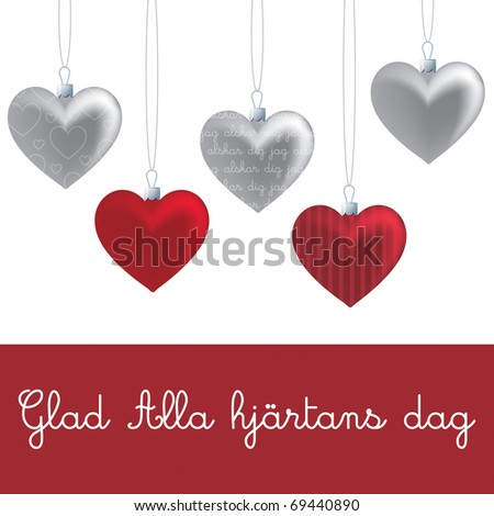 Valentines Day Card Templates | Valentines Day Card Template Stock Vector 69440890 Shutterstock