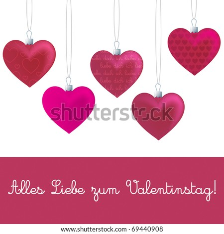 Vector Valentines Day Template French Vector 69540100 – Valentines Day Cards Template