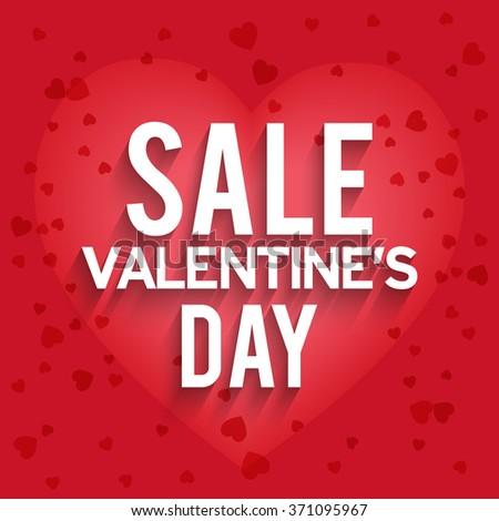 Valentines Day Celebration Poster Banner Flyer Stock Vector ...