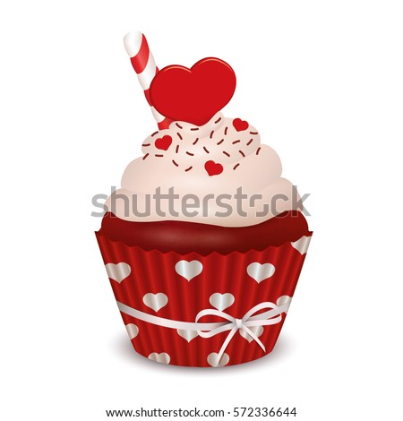 valentine\'s day red velvet cupcakes