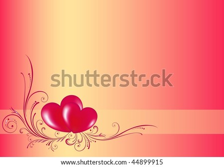 Valentine's vector illustration. EPS8, all parts closed, possibility to edit. - stock vector
