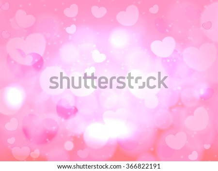 Valentines day. Abstract background for greeting card, vector - stock vector