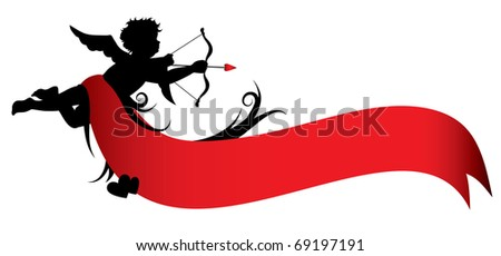 valentines day banner (also available jpg version) - stock vector