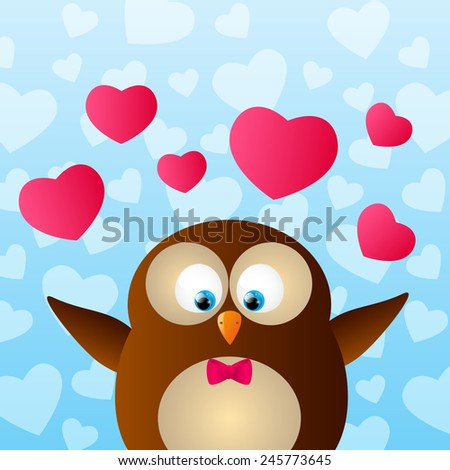 Valentines Day Owls Images RoyaltyFree Images Vectors – Owl Valentines Day Cards
