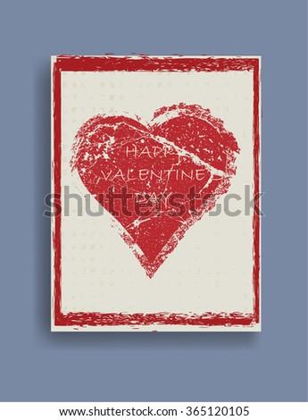 Valentines Day Flyer . Valentines Day Brochure .  Valentines Day Invitation Card Design . Valentines Day Background . Valentines Day Pattern . Valentines Day Background . - stock vector