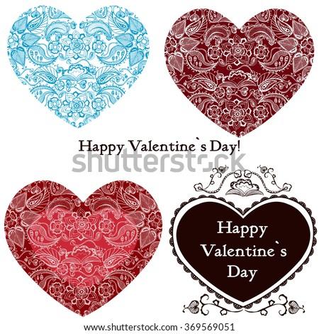 valentines day, valentines day ideas, happy valentine day, valentines day vector, valentines day gift, text, valentine card, valentine message, lettering, graphic design - stock vector
