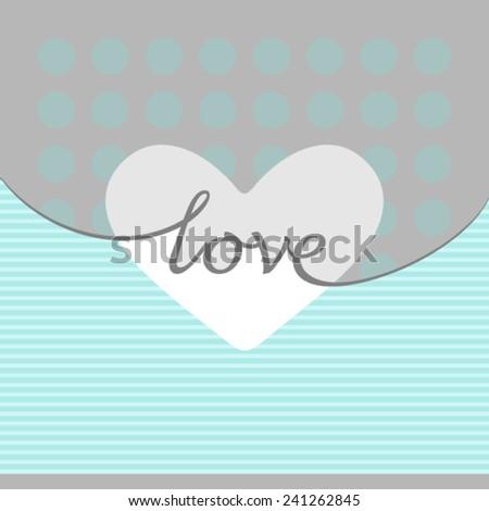 Valentines heart. - stock vector
