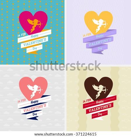 Valentines icons set. eps8 - stock vector