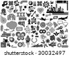 Value Pack: Collection of design elements. Much more design elements in my portfolio. - stock vector