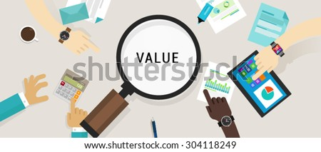 value proposition customer offering cvp business ethic - stock vector