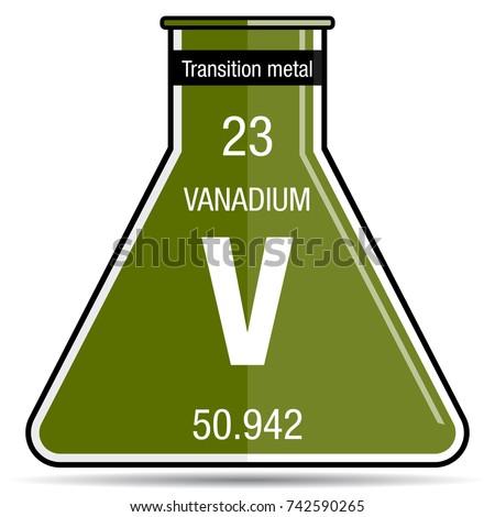 Vanadium Atomic Number Vanadium Stock Images,...