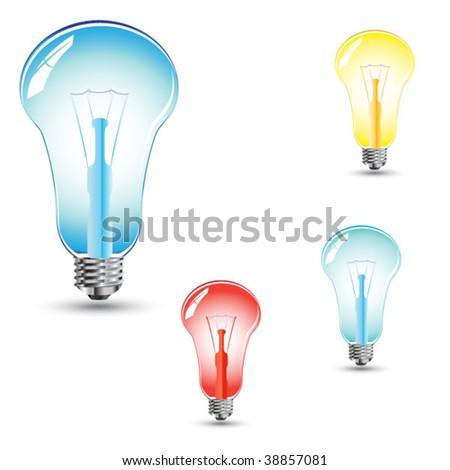 various colored light bulbs - Colored Light Bulbs