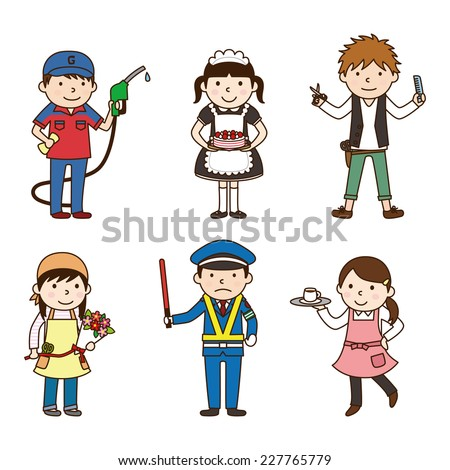 Various occupations / set 2 - stock vector