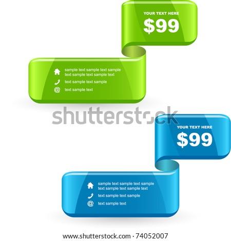 Various sale design elements - stock vector