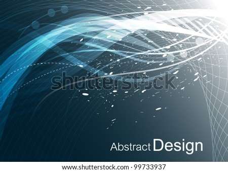 vector abstract background connection technology design