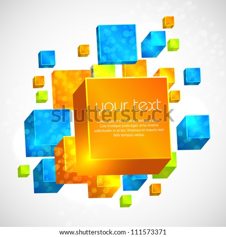 Vector Abstract Background, easy editable - stock vector