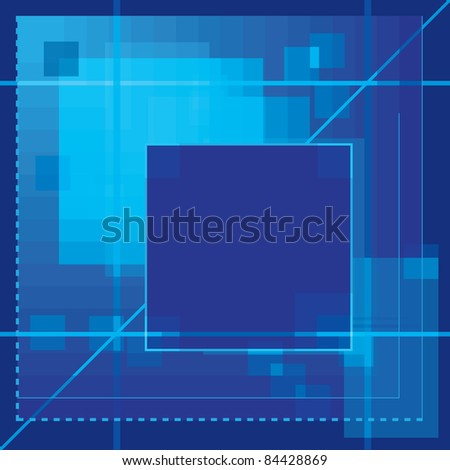 vector abstract background in blue colors (EPS 10)