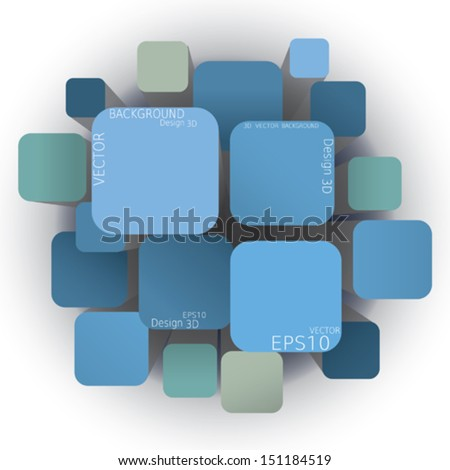 Vector Abstract Background light - stock vector