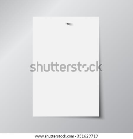 Vector abstract background, Paper sheet.