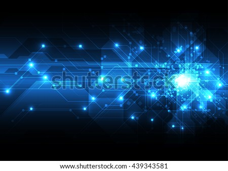 vector abstract background technology illustration. communication