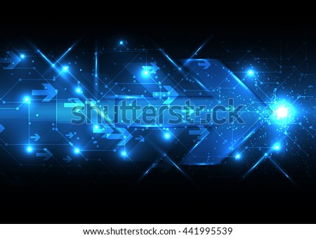 vector abstract background technology illustration communication