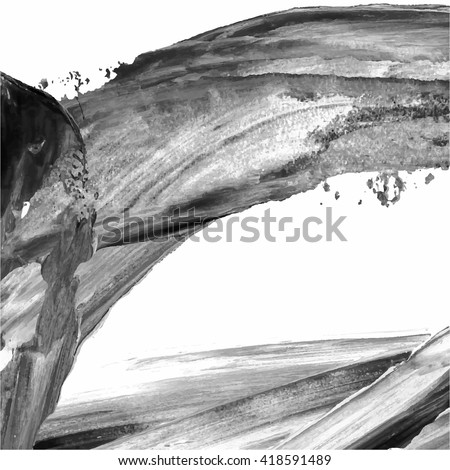 Black and white abstract stock images royalty free images for Acrylic painting on black background